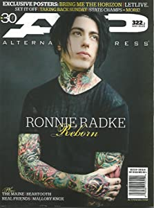 Alternative Press (AP Magazine) May 2015 - Falling in Reverse's Ronnie Radke Version 322.2 Guitar Special, Beartooth, Mallory Knox, The Maine, Real Friends, Saywecanfly, All Time Low, Ignore the Baby, Rare and New!
