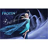 Sticker Studio Frozen Wall Poster & Wall Sticker (PVC Vinyl,Size -36 x 24 Inch)