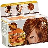 Garnier Kit Multi lumières, cheveux Kit 3pour cheveux Rouge