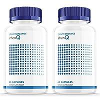(2 Pack) Phen Q Diet Pills Caps Tablets Supplements for Women Men (120 Capsules)