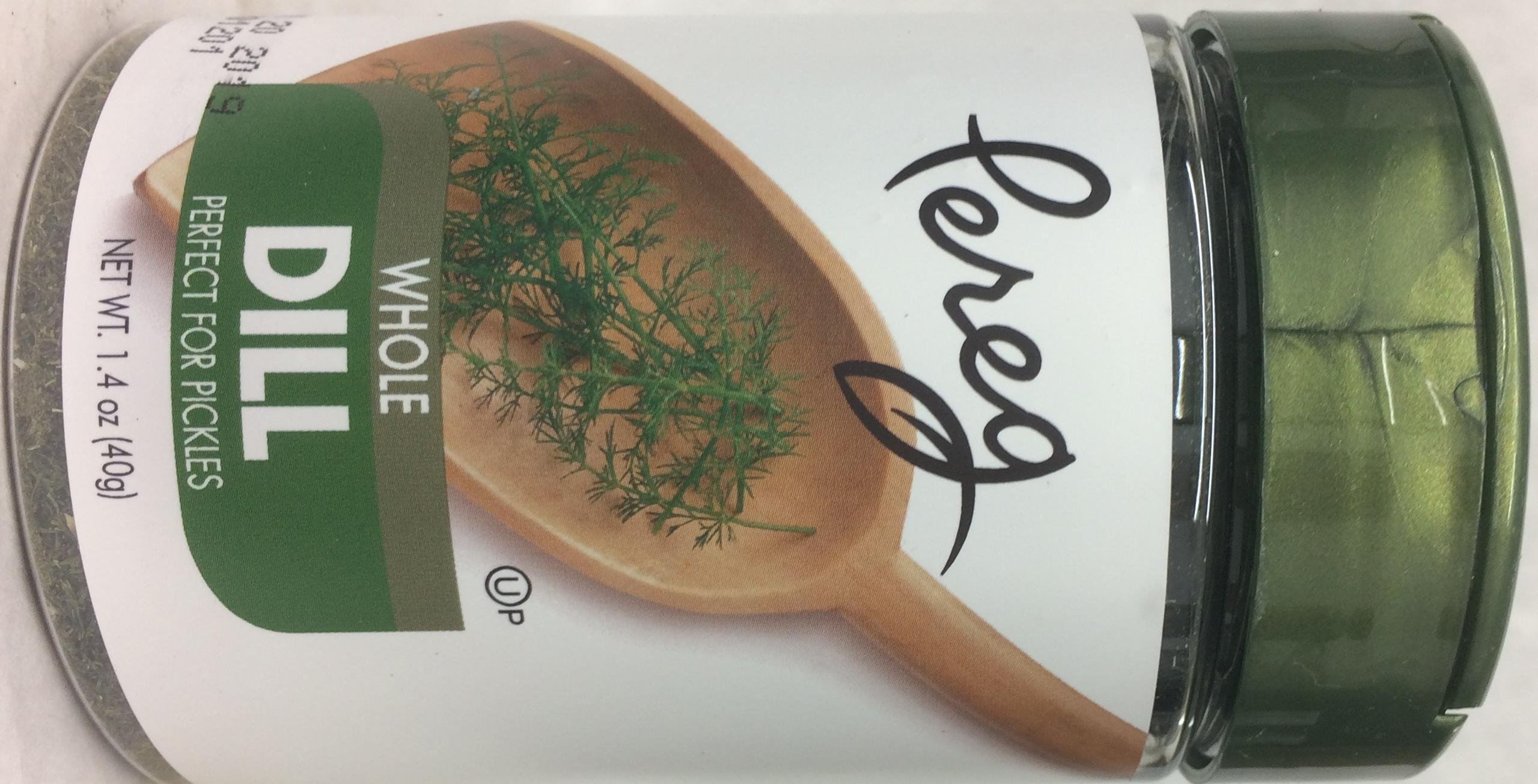 Pereg Whole Dill Perfect For Pickles Kosher For Passover 1.4 Oz. Pack Of 1.