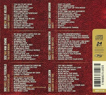 VARIOUS ARTISTS   Golden Jazz Box: Ladies Of Jazz/Various   Amazon.com Music