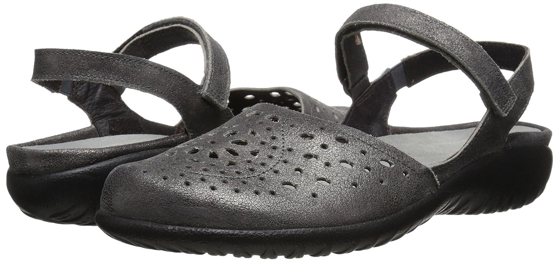 NAOT Women's Arataki Dress Sandal B00LT4A3N0 37 M EU / 6 B(M) US|Gray Shimmer