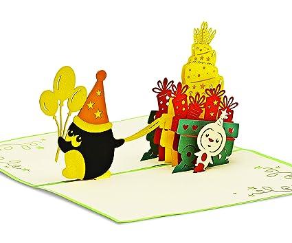 Feliz Cumpleaños Tarjeta de felicitación & aniversario ...
