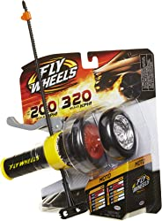 Fly Wheels Launcher + 2 Moto Wheels - Rip it up to 200 Scale MPH, Fast Speed, Amazing Stunts & Jumps up to 30 feet! All Terr