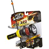 Fly Wheels Launcher + 2 Moto Wheels - Rip it up to 200 Scale MPH, Fast Speed, Amazing Stunts & Jumps up to 30 Feet All…