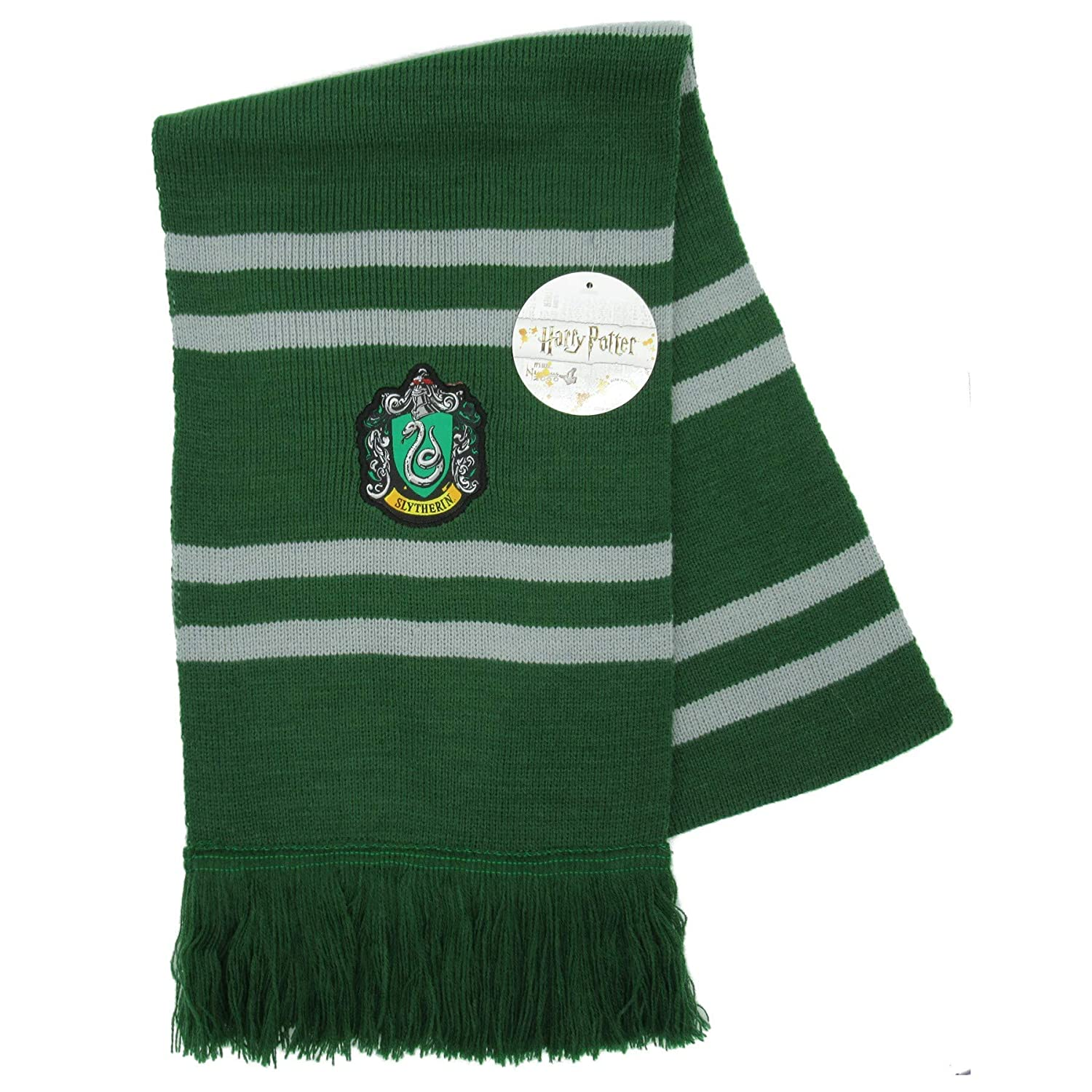 Harry Potter Bufanda Slytherin Ultra Suave - 100% Original Warner Bros