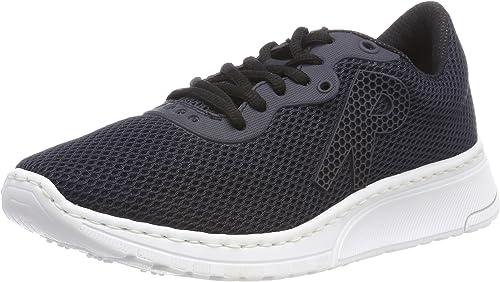 Rieker Damen Sneaker weiß N4153 80