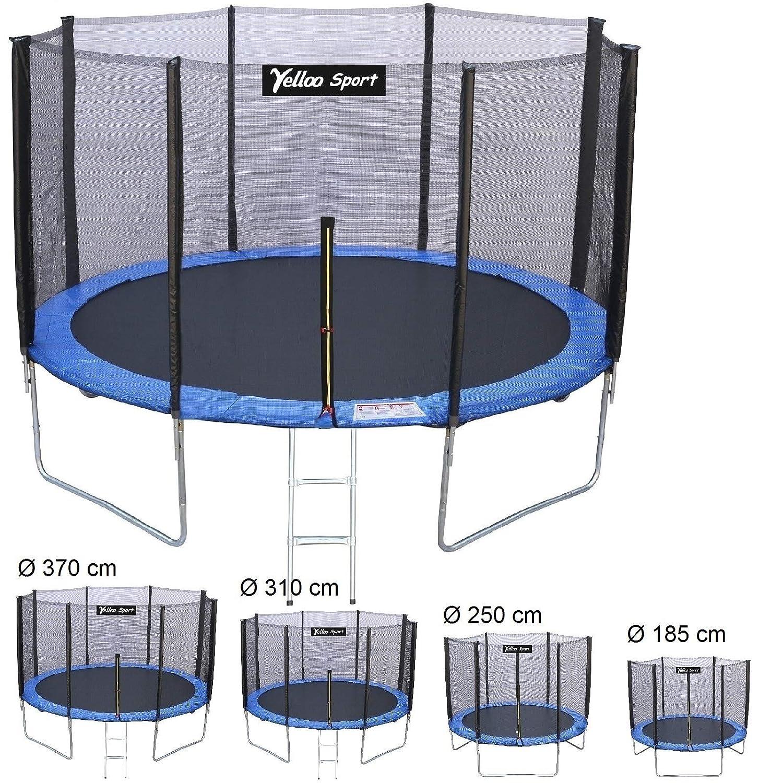 Yelloosport, Cama elástica de jardín para niños, diámetro 185 250 ...
