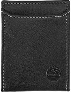 735f3c6991f35 Timberland Men s Hunter Minimalist Slim Money Clip Wallet
