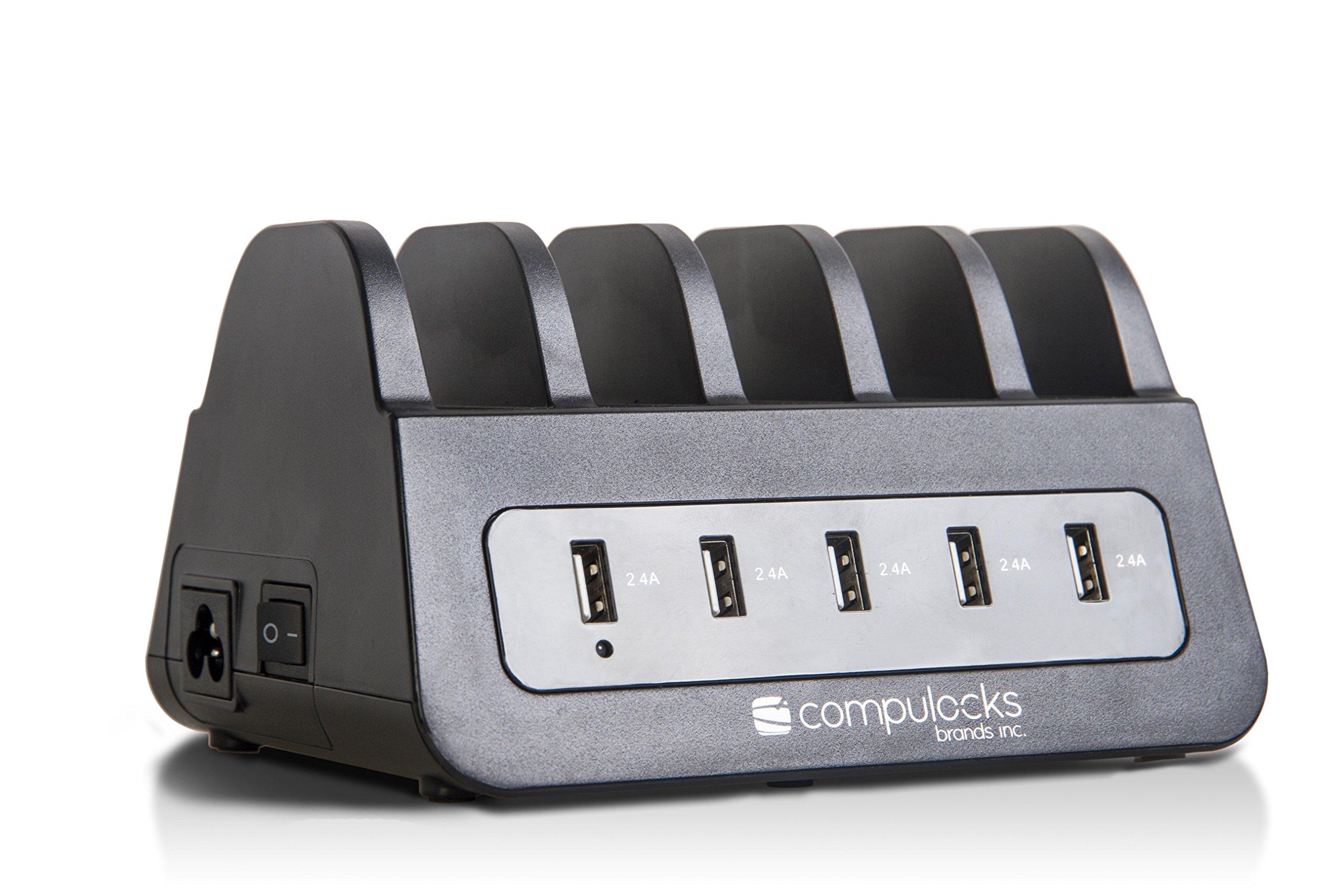 Maclocks 5PUSBDKS 5 Port USB Charging Dock Station for Smart Phone iPhone/iPad/Samsung/Nexus