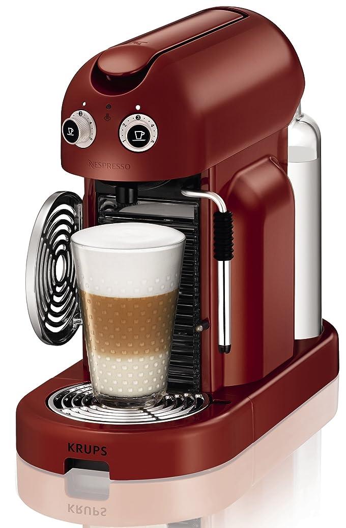 Krups XN8006 Machine à café Nespresso Maestria Rouge (Import ...