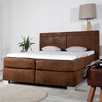 Invicta Interior Cama de Cama con somier Queens 180 x 200 cm ...