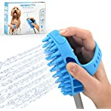 Aquapaw Pro Pet Grooming Sprayer and Scrubber in One Shower & Outdoor Garden Hose Compatible, Dog Cat Horse Grooming