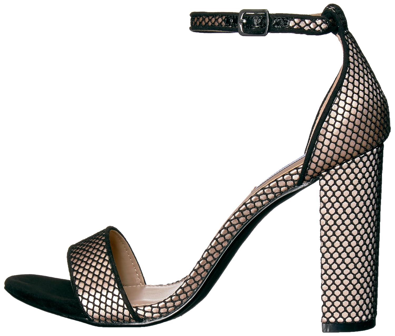 Steve Madden Women's B(M) Carrson Dress Sandal B073JSRFCW 7.5 B(M) Women's US|Black Mesh cf08f8