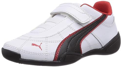 Puma Tune Cat B 2 V Kids - zapatilla deportiva de material sintético infantil, color blanco, talla 20: Amazon.es: Zapatos y complementos