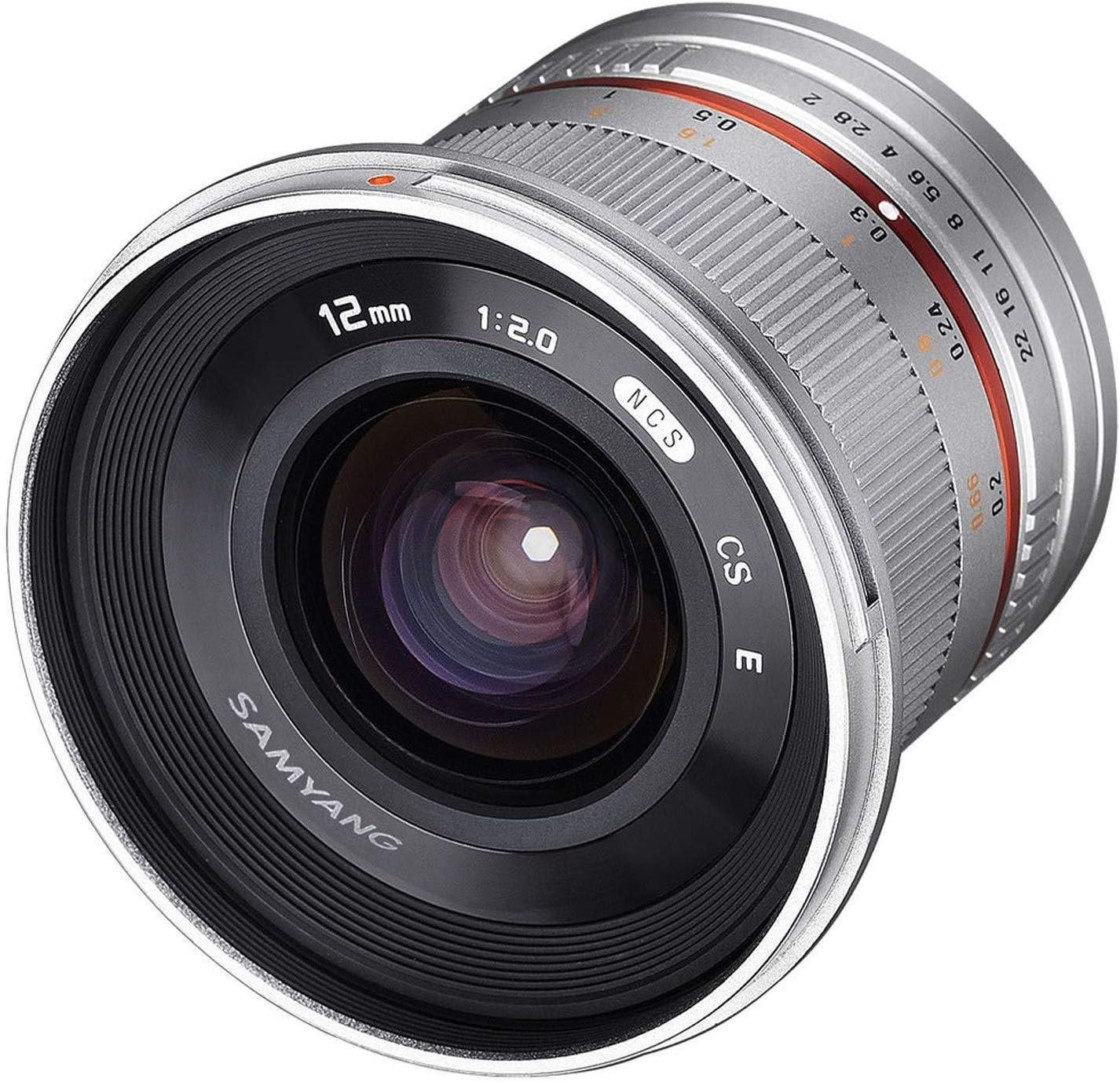 Samyang 12mm F2 0 Mft Silber Weitwinkel Kamera