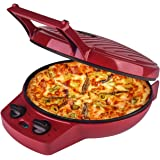 Courant Pizza Maker, 12 Inch Pizza Cooker and Calzone Maker, with Timer &Temperatures control, 1440 Watts Pizza Oven convert
