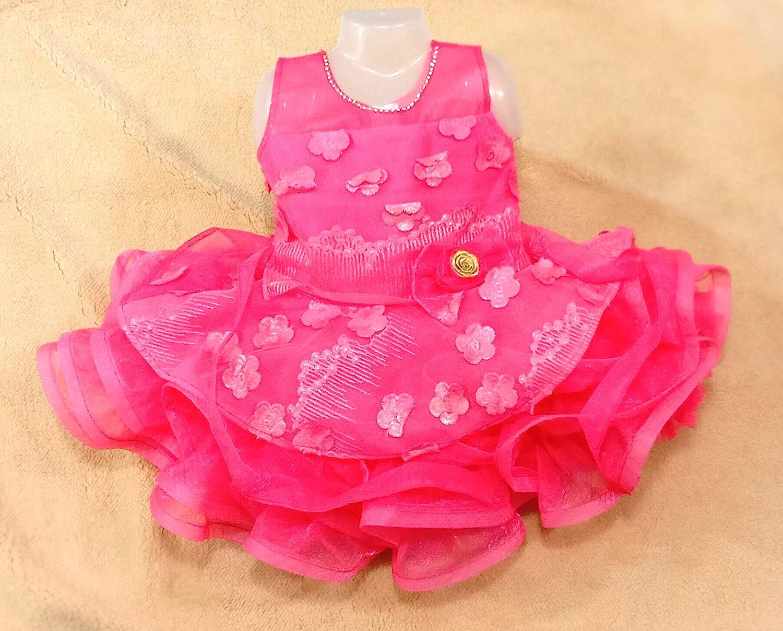 Buy BABYZ WORLD (6-6months Baby Dress for Girls Baby Fluffy