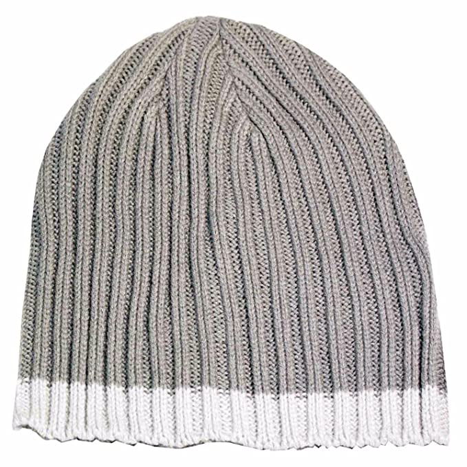 Image Unavailable. Image not available for. Color  ISOTONER A25038 Men s  Grey Cable Knit Beanie ... c18fe421dd0