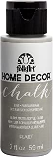 product image for FolkArt Home Décor Chalk Furniture & Craft Paint in Assorted Colors, 2oz, Parisian Grey