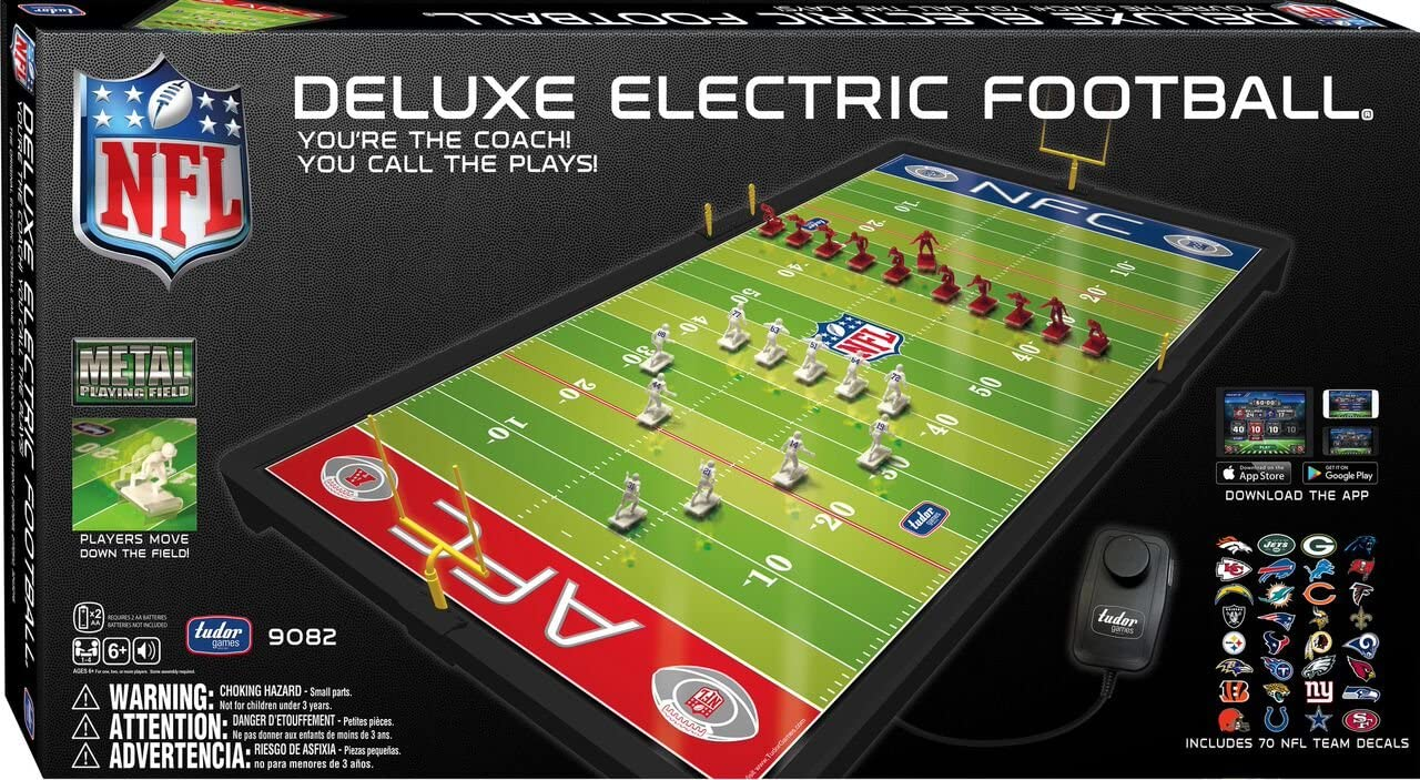 NFL Deluxe Electric Football from Tudor Games