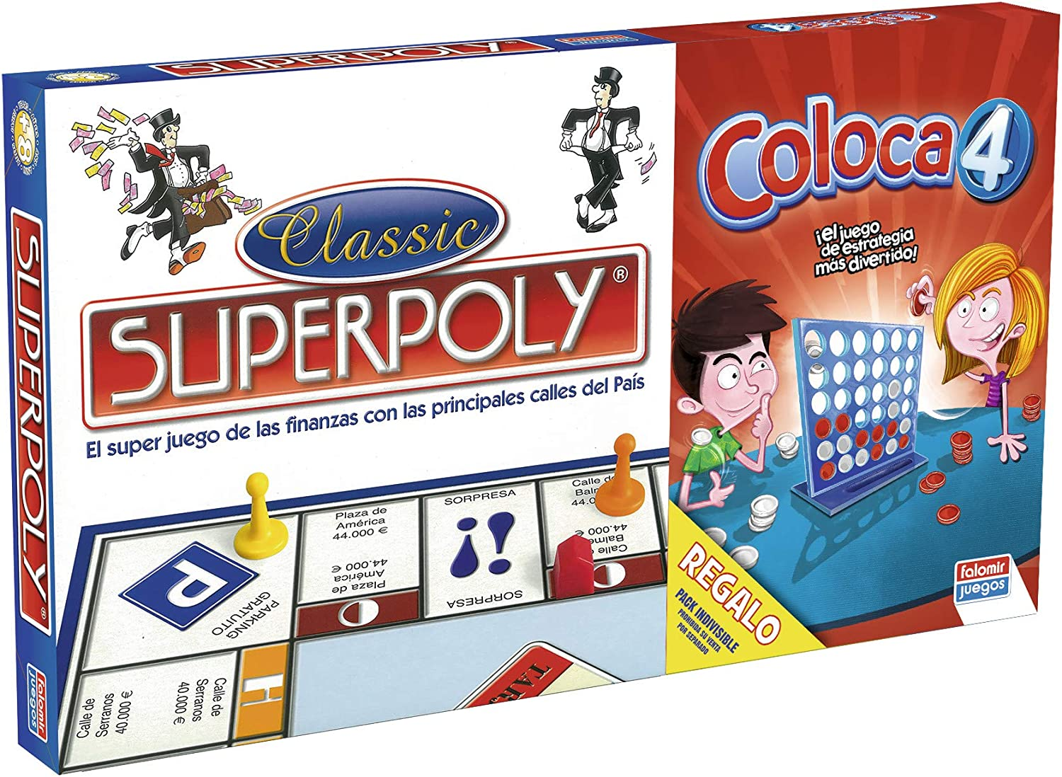 /SuperPoly Falomir 646385/Double Game/ Place 4