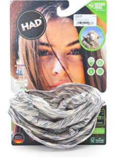 Camping & Outdoor HAD Merino Multifunktionstuch Schlauchtuch India Paisley Black Tuch Stirnband Ha