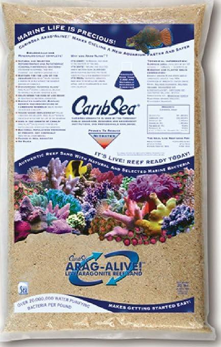 CaribSea Arag-Alive Special Grade Reef Sand 10 lb