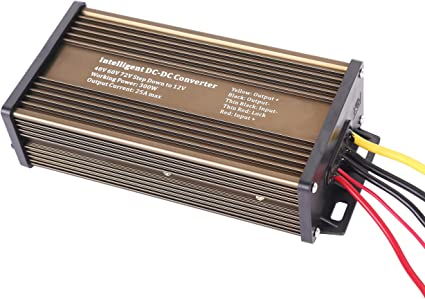 WaterProof 36V//48V to 12V 25A 300W Step Down DC//DC Power Converter Regulator BE