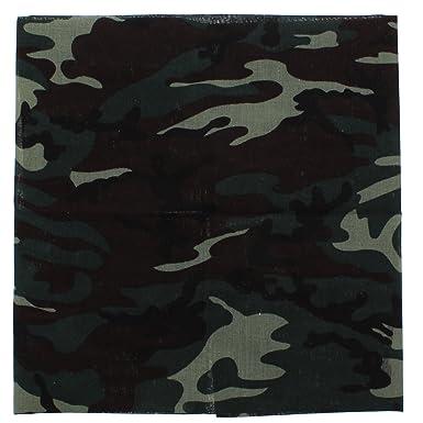Zacs Alter Ego/® Green Camouflage /& Leopard Cotton Bandana