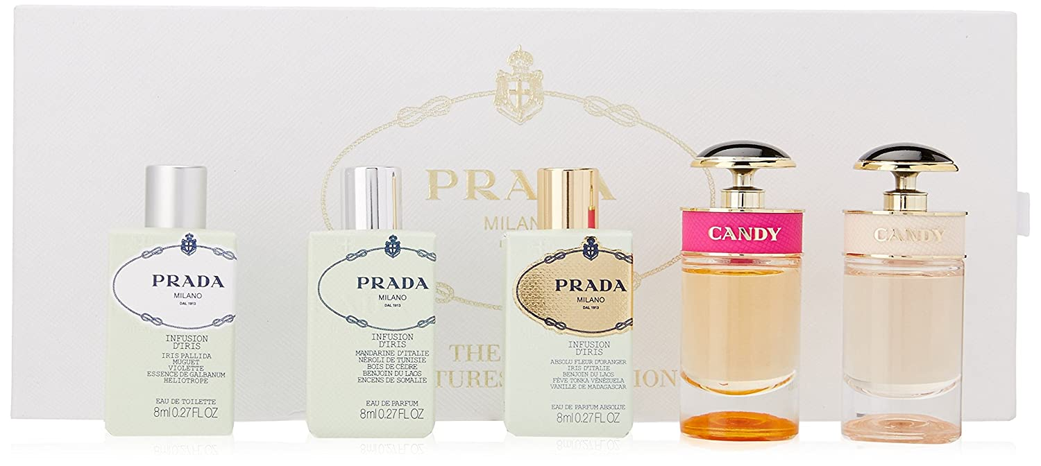 44dc483704ff1c Prada - Prada Miniatures Collection - Coffret Miniatures mixte Femme -35ml   Amazon.fr  Beauté et Parfum