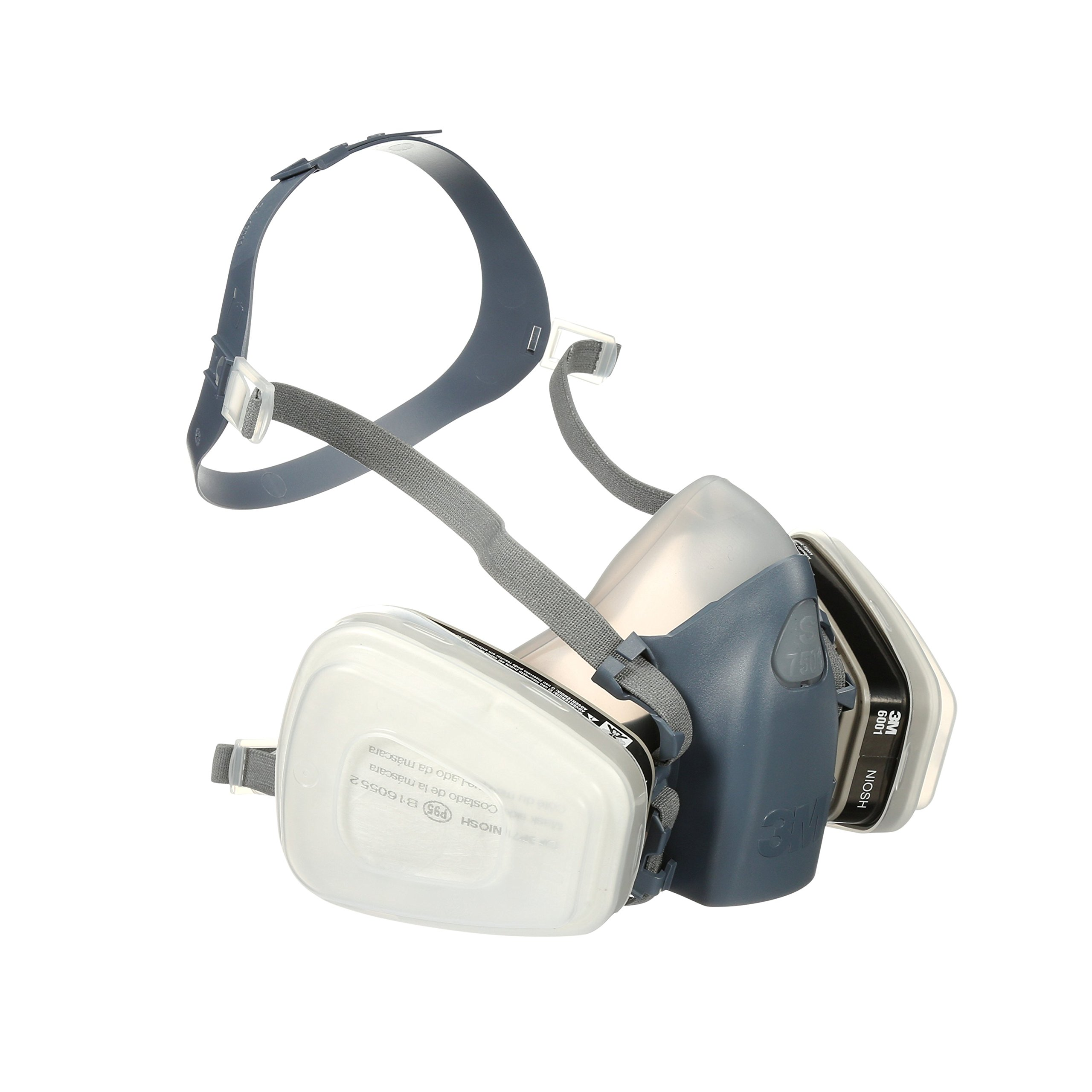 3M 7511PA1-A-PS Professional HalfMask Organic Vapor, N95 Respirator Assembly, Small by 3M Safety (Image #5)