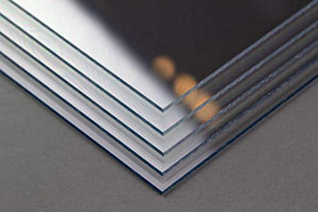 Homedeco-24 Acrylglas 1 mm klar Platte Zuschnitt in verschiedenen Gr/ö/ßen 50x70 cm Hier