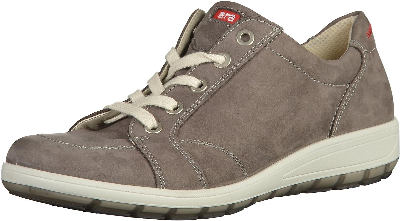 ara Ara Damen Schnürer - Zapatos de cordones de Piel para mujer Gris gris 5.5 UK|Marrón - marrón