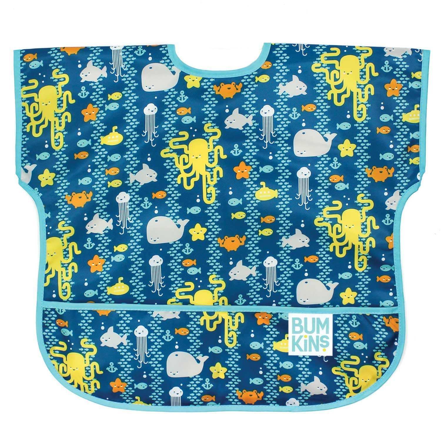 Bumkins Waterproof Junior Bib, Hearts, 1-3 Years U-10