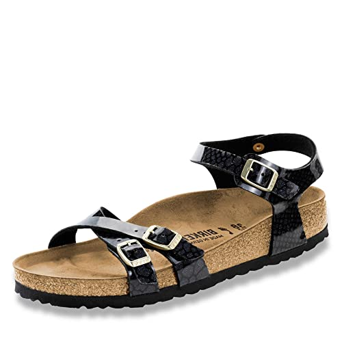 afa61b3937b4 Birkenstock Kumba 1009134 Ladies Magic Snake Black 38  Amazon.co.uk  Shoes    Bags