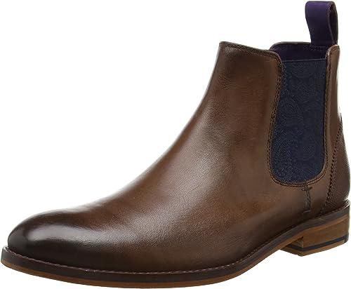 Ted Baker Herren Camroon 4 Chelsea Boots, Schwarz