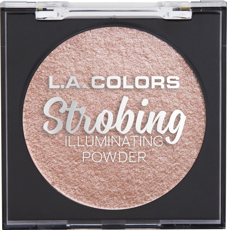 L.A. COLORS Strobing Illuminating Powder, Brazen Beauty, 1 Ounce