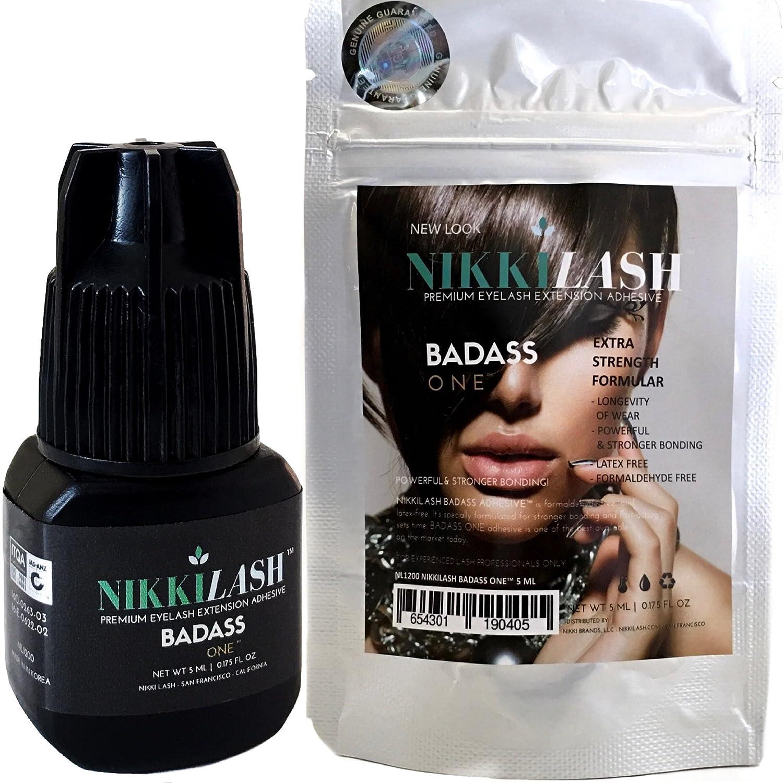 Amazon Badass Strongest Bond Latex Free Eyelash Extension Glue