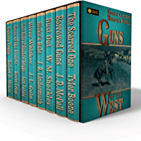Guns of the West: Eight Classic Western Novels (English Edition)