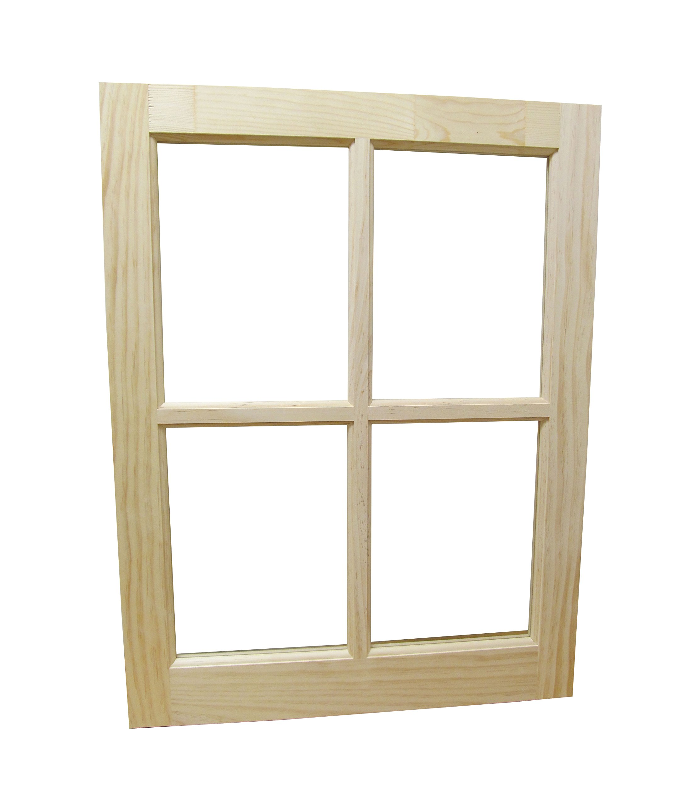 Wooded Barn Sash Window Traditional Style 22'' x 29''