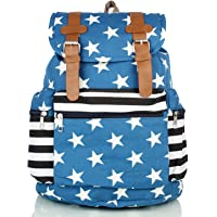 Mammon women's backpack handbag(ds-bp-blue,Size-15x16x7 inches)