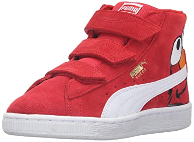 PUMA Sesame Street Suede Mid Kids Sneaker (Toddler/Little Kid/Big Kid)
