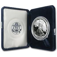 1995 P 1 oz Proof Silver American Eagle (w/Box & COA) 1 OZ Brilliant Uncirculated