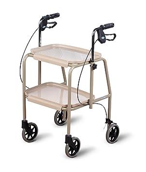 Homecraft - Andador con bandejas: Amazon.es: Salud y cuidado ...
