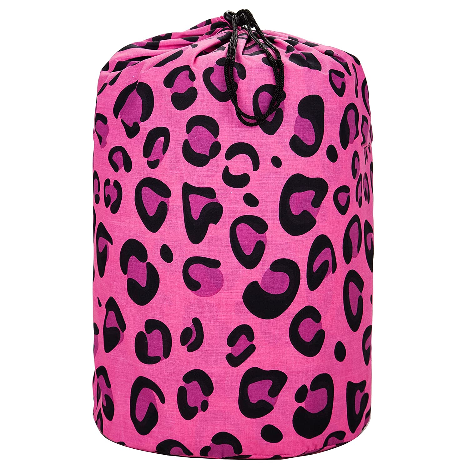 Big Dot Pink 17085 Wildkin Original Sleeping Bag Features Matching Travel Pillow and Coordinating Storage Bag Perfect for Sleeping On-the-Go