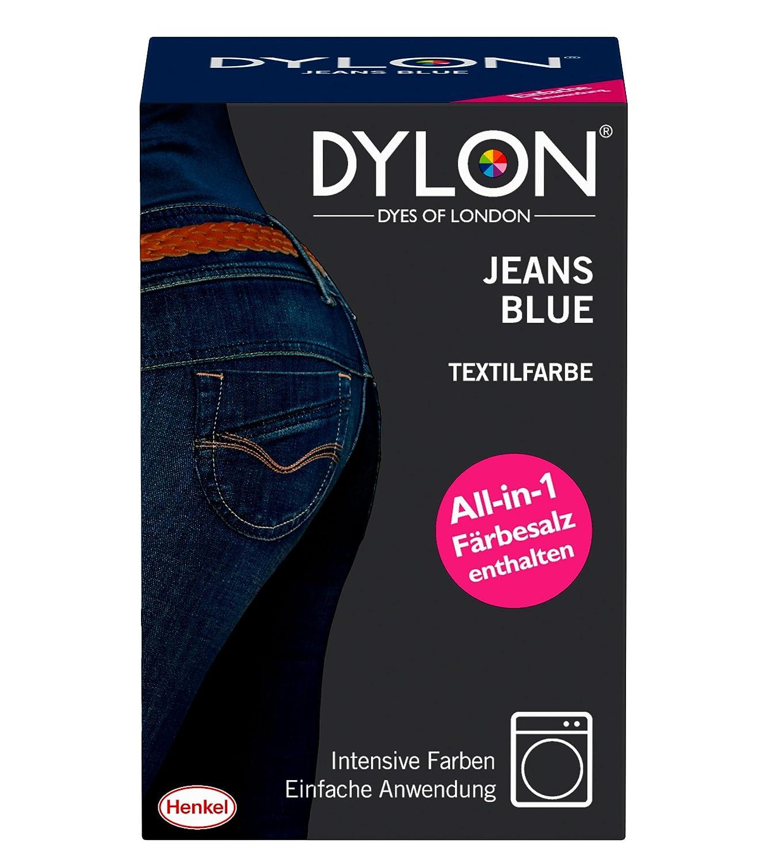 DYLON Textilfarbe, Jeans Blue, 1er Pack (1 x 1 Stück): Amazon.de ...
