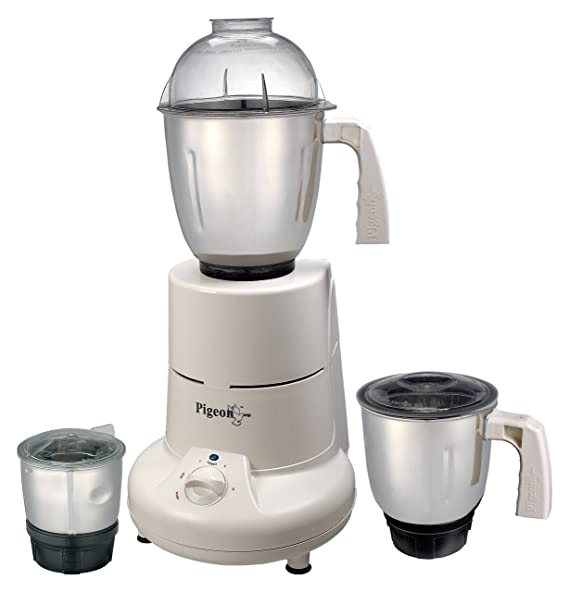 Pigeon Special 750-Watt Mixer Grinder (White) Mixer Grinders at amazon