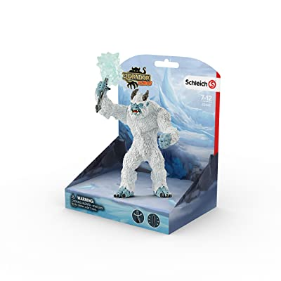 SCHLEICH Eldrador Ice Monster with Weapon Imaginative Figurine for Kids Ages 7-12: Schleich: Toys & Games